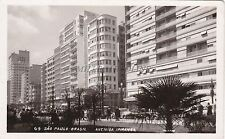 BRAZIL - Sao Paulo - Avenida Ipiranga - Photo Postcard 1953