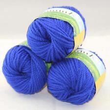 Sale New 3Skeinsx50g Quick Hand Knitting Wool Silk Yarn Warm Wrap Shawl Scarf 24