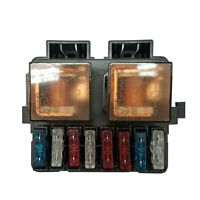 Universal Car Boat Truck Audio DC12V 2-Way Relay Fuse Box Holder with 8 Fuses