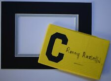 Ronny Rosenthal Signed Captains Armband free display Liverpool Football COA