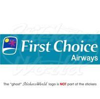 Vinyl Aufkleber First Choice Airways Fluglinie 180 mm