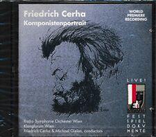 Friedrich Cerha CD NEW Komponistenportrait Michael Gielen