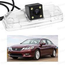 4 LED Car Rear View Camera Reverse Backup CCD fit for Honda Accord 2013-2014
