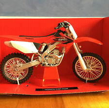 NewRay 1:12 Scale Die-Cast Honda CRF450R Classic Collection Motorcycle Model