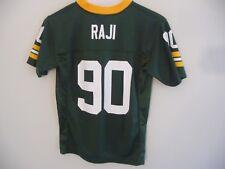 BJ Raji Green Bay Packers #90 Youth size medium 10-12 football jersey NFL green