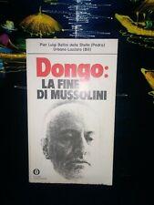 Dongo - la fine di Mussolini di Pier Luigi Bellini / Urbano Lazzaro 1975