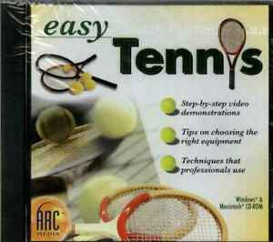 Easy Tennis, Step by Step How to Video Demonstration Tutorial, Tips PC & MAC NEW
