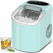 Portable Ice Maker Machine for Countertop, 9 Cubes Ready in 8 Min, 26 Lbs/24Hrs,