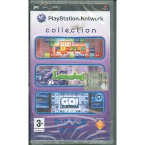Psn Collection Jigsaw Puzzle Video Game Psp sony Sealed 0711719747550