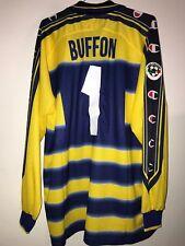 maglia calcio parma Buffon champion nr 1 size XL