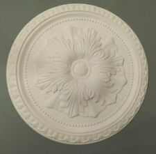 Ceiling Rose 'FLAVIA' Made Of Strong Resin (not polystyrene) 45CM
