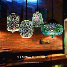 Modern Hanging 3D Firework Glass Ceiling Lights Pendant Lamp Chandeliers Galaxy