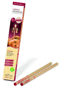 BIOSUN TRADITIONAL EAR CANDLES - One Pair, Made in Germany