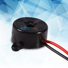3V-24V 10mA Piezo Electronic Tone Buzzer Alarm Continuous Sound + Mounting Hole