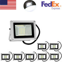 8X 20W LED Flood Light Cool White Outdoor Security SMD Work Lamp Spotlight DC12V
