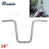 DEMONS CYCLE FRISCO Chrome 16 Rise Ape Hangers 1-1//4 Handlebars 2001-2013 Kawasaki Vulcan