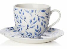 Sabichi Beatrice Bone China Tea Tasse à Café Avec Assorti soucoupe au lave-vaisselle