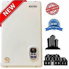 Excel Pro Natural Gas 6.6 GPM Tankless Gas Water Heater *Whole House * Hydronic*