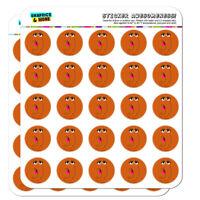 Sesame Street Snuffleupagus Face Planner Calendar Scrapbooking Crafting Stickers