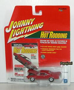 JOHNNY LIGHTNING Popular Hot Rodding 1967 Oldsmobile Cutlass 442 67 Olds 1:64 U