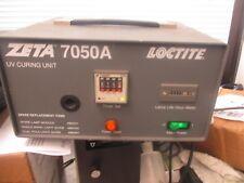Loctite Model: Zeta 7050A UV Curving Unit.  <