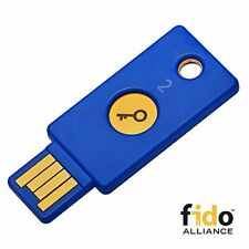 Yubico Security Key - U2f and Fido2 Usb-a Two-factor Authentication (p3p)