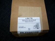 Johnstone Supply Single Stage Temp Controller w/ Display Heating/Cooling L38-716