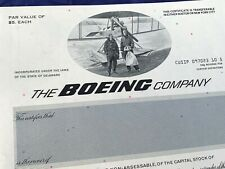 Stock Certificate BOEING COMPANY 1994 Specimen EF condition - 572