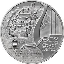ISRAEL 2018 JERUSALEM SERIES CITY OF DAVID BULLION PROOF 1oz PURE SILVER COIN