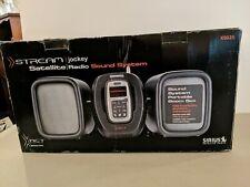 New In Box! Sirius Stream Jockey Satellite Radio Sound System Portable Boom Box