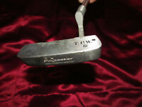 Vintage Putter PINSEEKER U.S.A. T.P.W. 3 Golf Steel Shaft 34.5 Inch Right Handed
