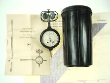 Vintage Anemometer Russian Wind Measurement 1-20 m/s Tool Manual Case Nr 5528