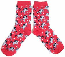 LADIES VIVID UNICORN SOCKS UK SIZE 4-8 EUR 37-42 USA 6-10