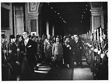 RE Vittorio Emanuele III e Regina Elena in visita