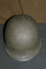 Original Late WW2/Korean War Front Seam U.S. Army M1 Helmet w/Para Straps, Named
