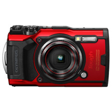 Olympus Tough TG-6 Waterproof Digital Compact Camera - Red