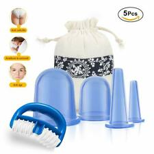 Kit de 4 Pieces Ventouse Anti Cellulite Minceur Roller Silicone Massage