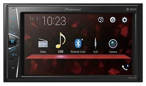 Pioneer DMH-G220BT Doppel-DIN MP3-Autoradio Touchscreen Bluetooth USB iPod AUX-I