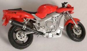 1/18 MAISTO KAWASAKI  ZX-7R DIECAST MOTORBIKE MOTORCYCLE BIKE Red