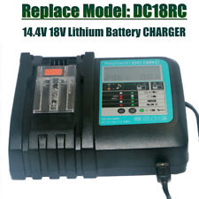 DC18RC  Battery LCD Charger for Makita 18v 14v BL1450  BL1820 BL1860 rapid 3A
