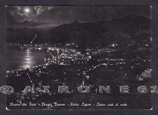 SAVONA PIETRA LIGURE 76b BORGIO VEREZZI - LOANO - NOTTURNO Cartolina viagg. 1955