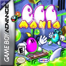 Egg Mania GBA New Game Boy Advance