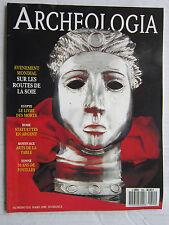 ARCHEOLOGIA N° 255 03/90:EGYPTE:livre des morts/ROME:statuettes en argent/