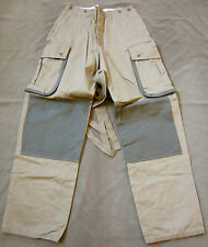 WWII US AIRBORNE PARATROOPER M42 REINFORCED JUMP TROUSERS-XSMALL