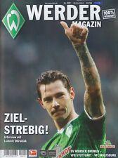 Werder Magazin Bremen + VfB Stuttgart + VfL Wolfsburg + 15.03.2014 + Programm