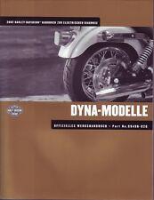 HARLEY Anleitung zur elektrischen Diagnose 2002 Dyna-Modelle DEUTSCH 99496-02G