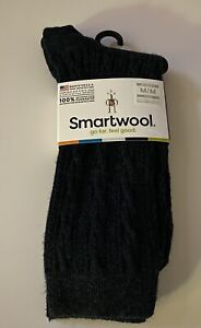Brand New Women's Smartwool Cable II Crew Socks Sz Medium $18.95 Value Everglade