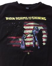 Ryan Adams And The Shining T-Shirt Small Concert Tour Rock Music 2015 Alt