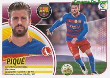 04 GERARD PIQUE ESPANA FC.BARCELONA STICKER LIGA 2017 PANINI