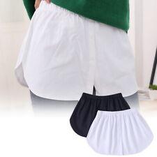 Damen Falsche Saum Basis Rock Hemd Tail Bluse Unterrock Sweatshirt Verlängerung⭐